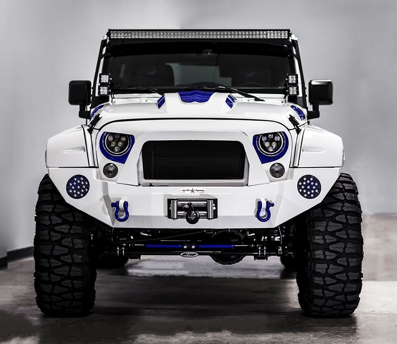 Jeep Rubicon 2017 Tuning >> This Stormtrooper Of A Jeep Wrangler Is 60 000 Worth Of Overkill