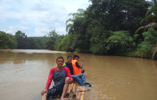 bambu rafting