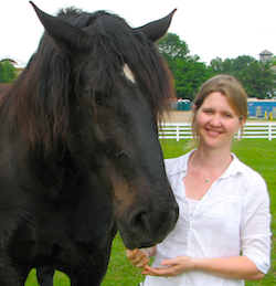 Researcher Samantha Brooks genetics of laminitis