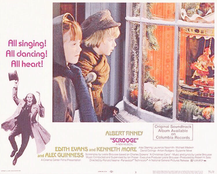 A Vintage Blog Scrooge Vintage Blog Classic Film Review Scrooge Musical 1970s Films Christmas Movies A Christmas Carol Albert Finney Movies