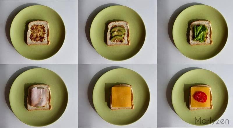 Confection club sandwich