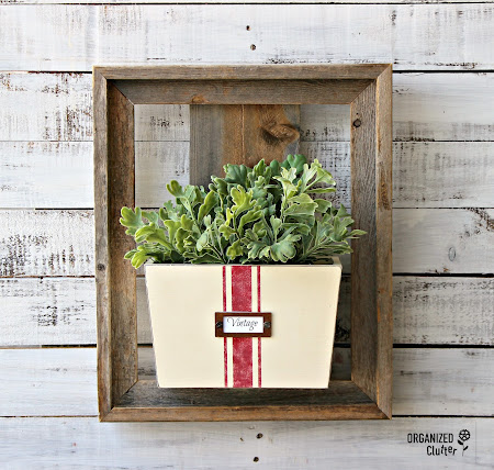 Barn Wood Frame Mail/Wall Pocket