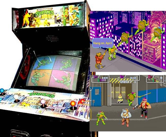 recreativa Tortugas Ninjas 1989
