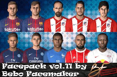 PES 2017 Big Facepack