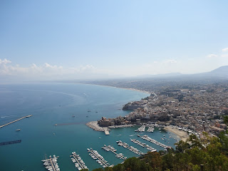The harbour at Castellamare del Golfo