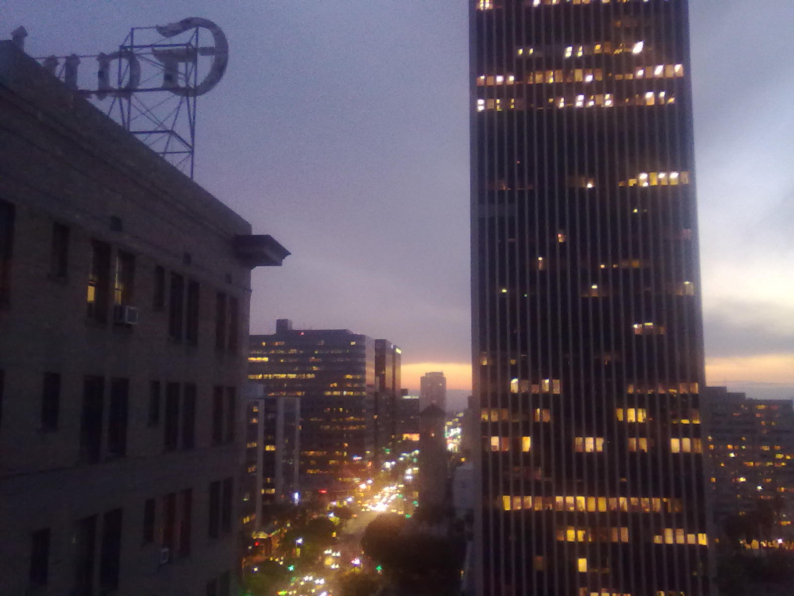 The View From This 12th Floor Unit In The Gaylord, Looking West, Could Be  Yours Mid  Late September.