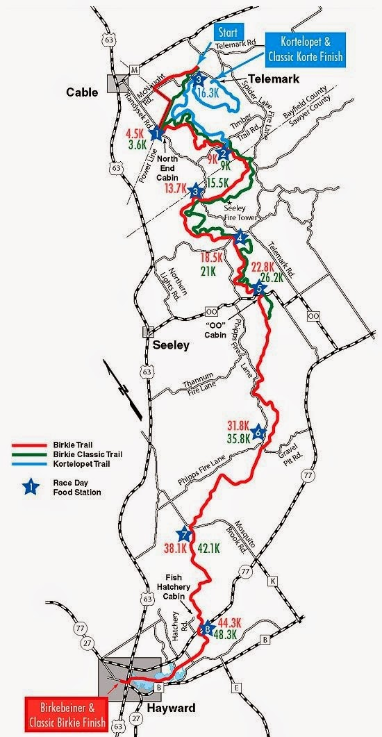 Day Hiking Trails: Opening section of famous north ...