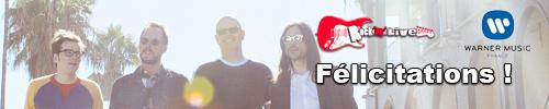 résultats concours nouvel album weezer rock'n'live blog