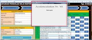 setelah membuka file tampil userform