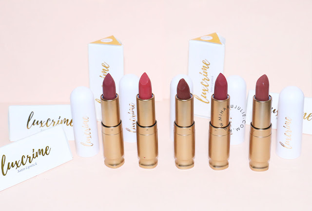Luxcrime Ultra Satin Lipstick Review