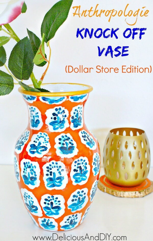 Anthropologie knock off vase