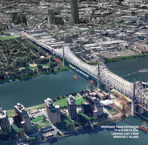 Roosevelt Island Apartments: Roosevelt Islander Online: Proposed Roosevelt Island Tram