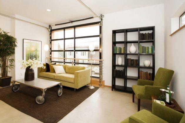 Ide Desain Mengubah Garasi Menjadi Ruang Tamu