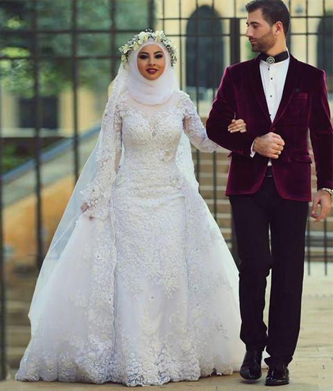 model baju untuk akad nikah