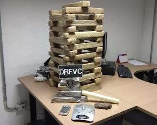 Polícia apreende 40 quilos de maconha em João Pessoa