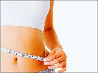 gambar cara mengecilkan perut gendut