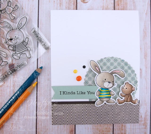 Heather's Hobbie Haven - Colored Pencil Tuesday - Snuggle Bunnies