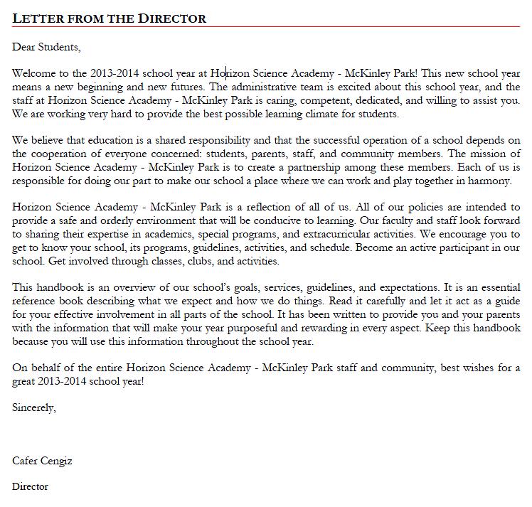 sorry letter ben furman