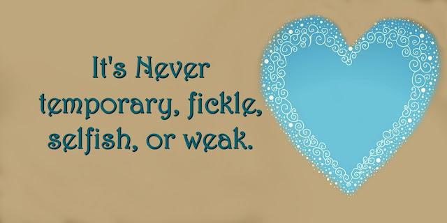 God's Love Never Fails