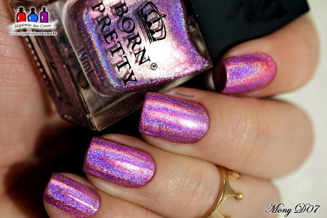 Born Pretty, Holo Nail Polish Collection, Review, Preto, prata, roxo, pink, rosa, rosa queimado, azul claro, azul, verde teal, dourado, holográfico, Mony D07, h001, h002, h003, h004, h005, h006, h007, h008, h009, h010,Coleção completa, H001 Shine In The Dark, H002 Magic Rainbow, H003 Temptation Wait, H004 Magnificent Time, H005 Dreams Girl, H006 Fly In The Sky, H007 Ocean Kingdom, H008 All-Embracing, H009 Together Forever, H010 Heart Of Gold, Holográficos da Born Pretty, Esmaltes holos, Coleção Completa,