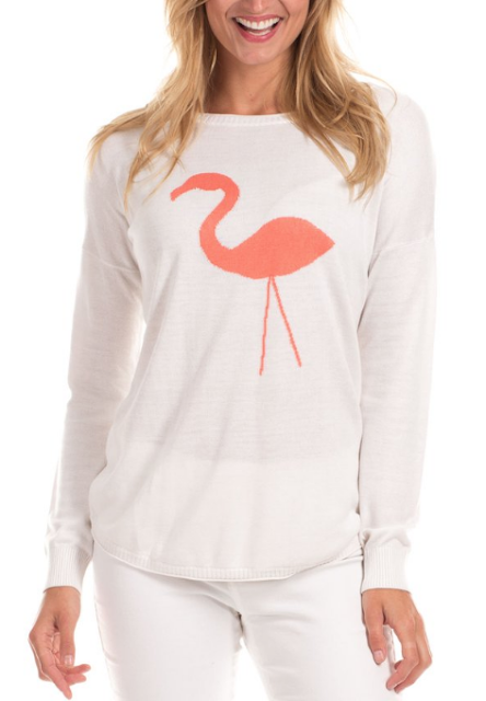 flamingo, preppy