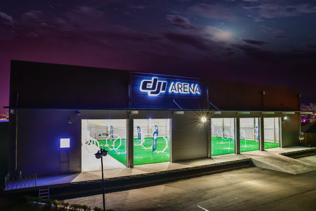 the earth leader inwards unmanned aerial vehicle engineering scientific discipline has opened a novel facility inwards  Dji Arena: Are You Ready to Fly?!