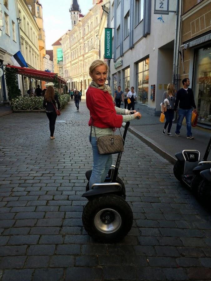 Экскурсия по Таллинну на сегвее