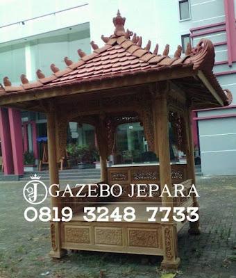 Gazebo Jati Jepara