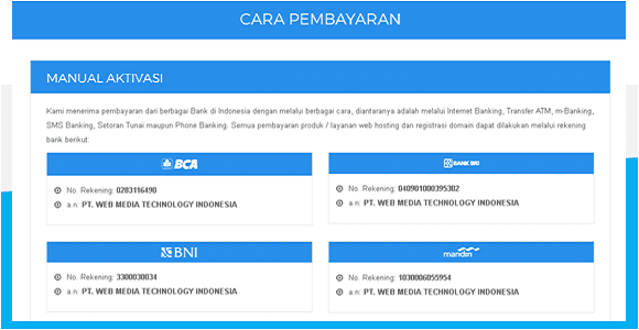 Urutan Proses Pembayaran Domain Di Niagahoster
