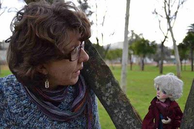 muñeca de Nicasia y Concha Perea