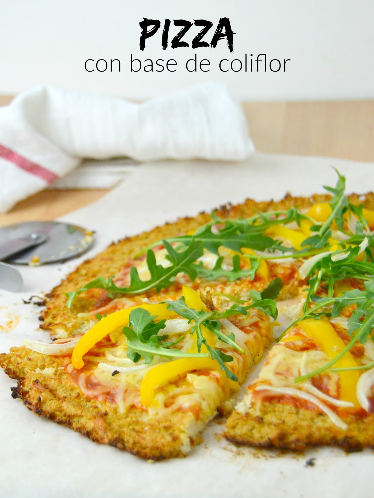Como Se Cocina La Coliflor | Pizza Con Base De Coliflor Cuuking Recetas De Cocina