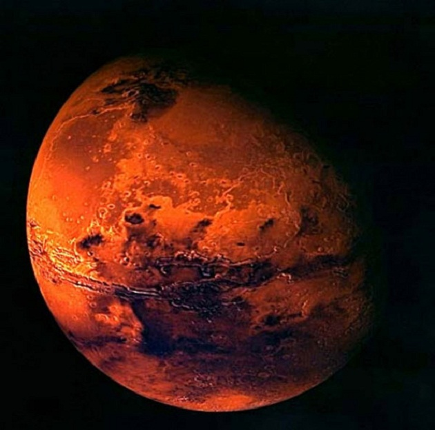 red planet mars surface - photo #32