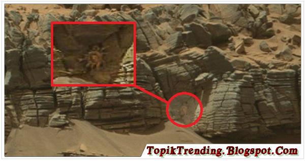 Benda Misterius Mirip Kepiting Di Mars