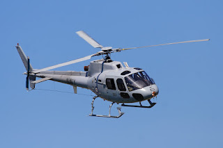 Eurocopter AS350 helicopter