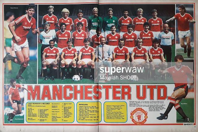 TEAM MANCHESTER UTD 1983