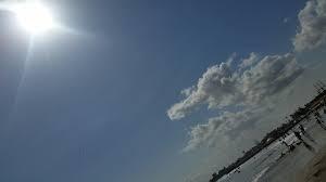 Miercoles con sol, nublados dispersos sobre regiones de montaña en Veracruz