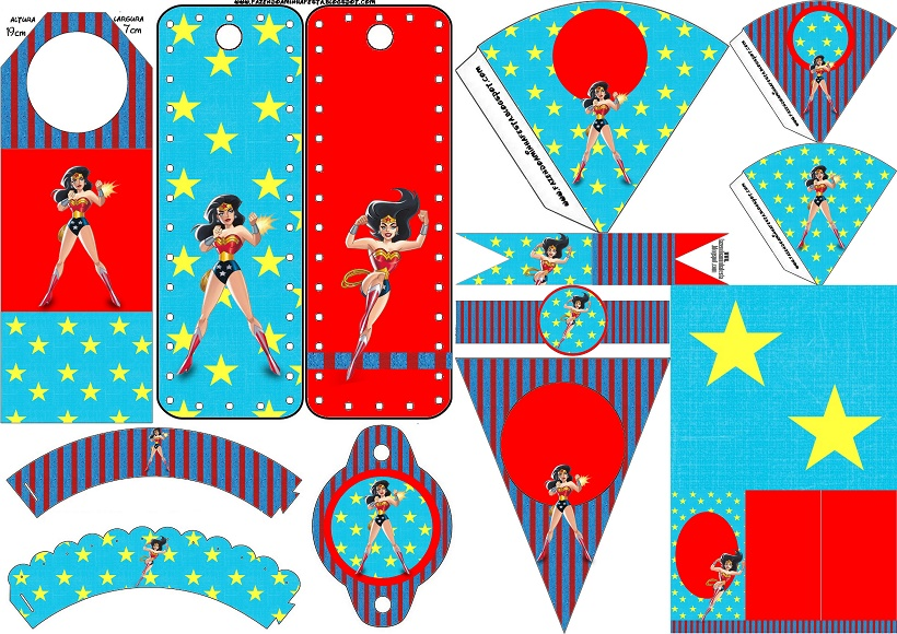 picture regarding Wonder Woman Printable identify Question Female: Free of charge Bash Printables. - Oh My Fiesta! for Geeks