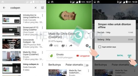 Cara Download YouTube Tanpa Aplikasi