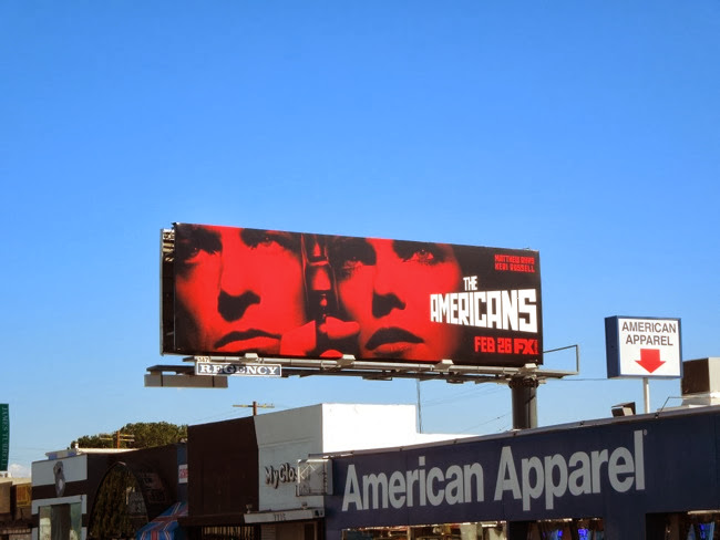 Americans season 2 FX billboard