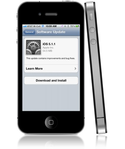 Download ios 5. 1. 1 for iphone 4s, 4, 3gs, ipad 2 and ipod touch.
