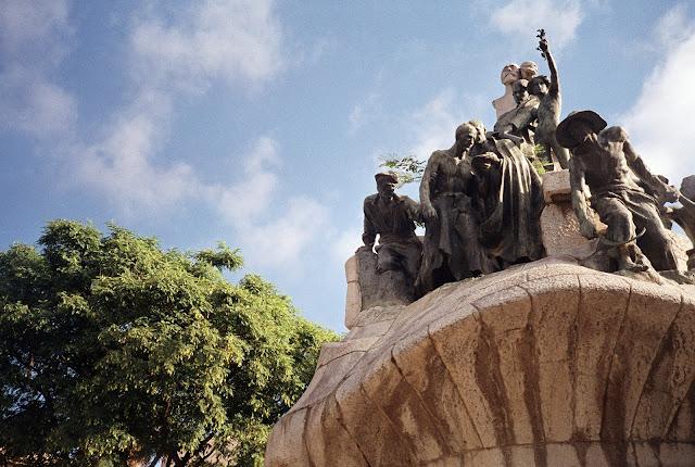 Statue Barcelona
