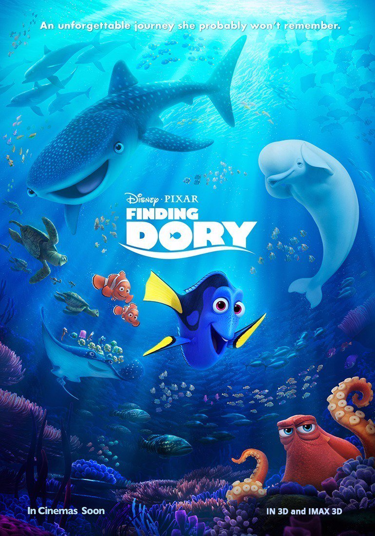 Image result for finding dory movie poster english