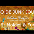 CURSO DE JUNK JOURNAL - Aula 6 (Junk Journal Course #6) - VÍDEO