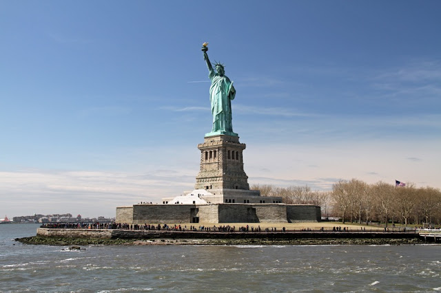 Landscape Statue of Liberty