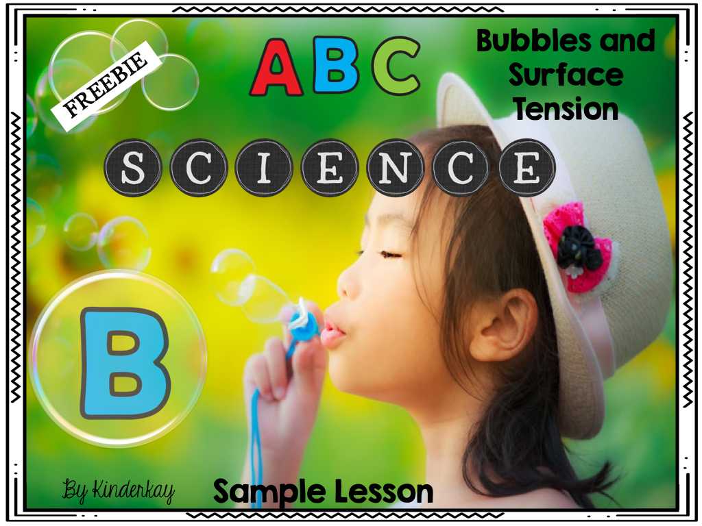 https://www.teacherspayteachers.com/Product/Alphabet-Science-FREE-Sample-B-is-For-Bubbles-2612054