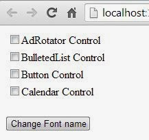 Programmatically change CheckBoxList font name in ASP.NET