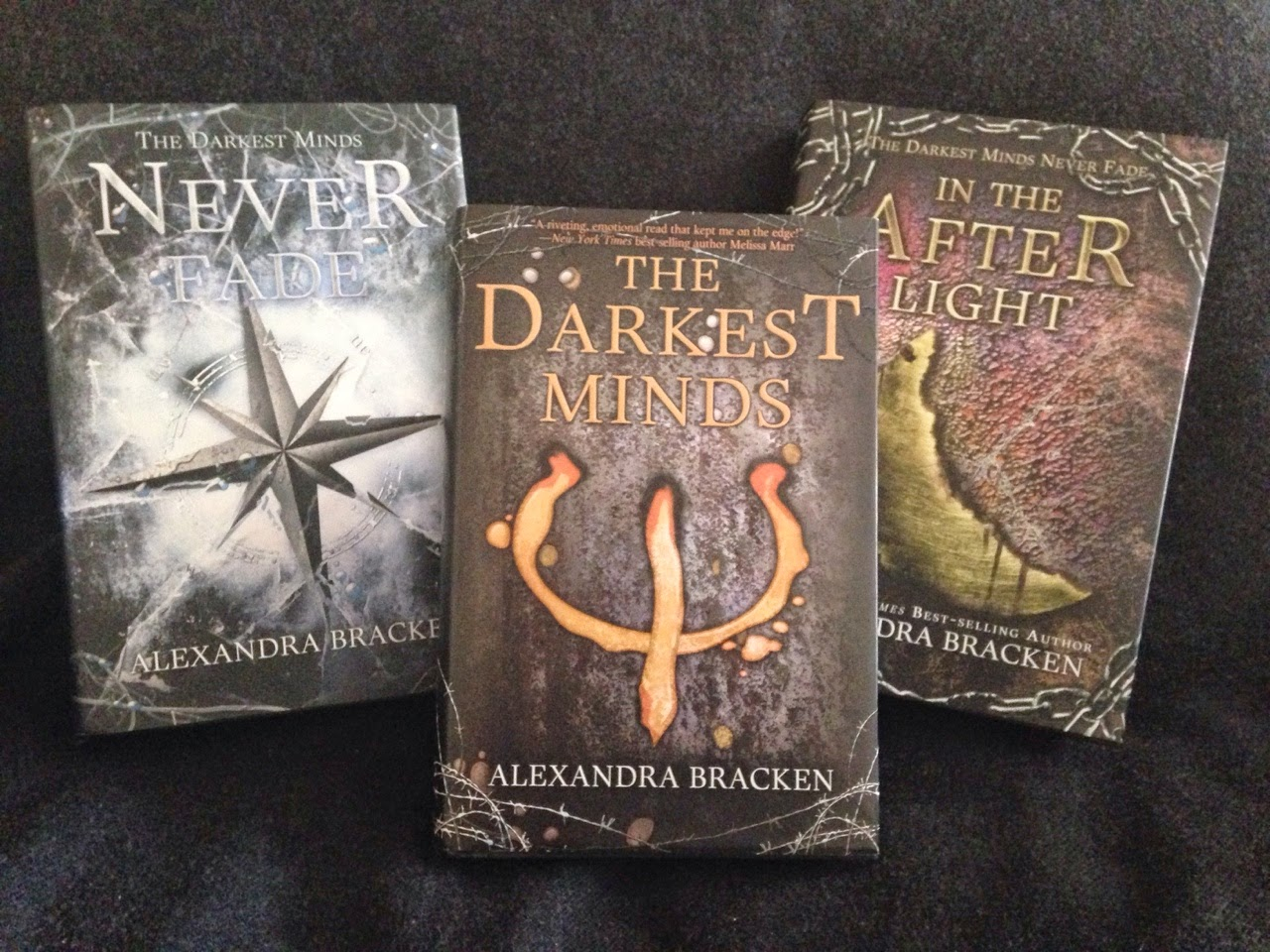 the darkest minds by alexandra bracke What it's about: in the futuristic ya novel, the government tries to intern and suppress young people with special abilities, including 16-year-old ruby.