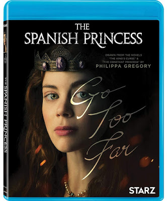 The Spanish Princess Blu Ray