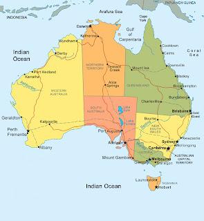 Australia Cartina Geografica.Altre Mete Queste Insolite Vacanze Altre Mete Presenta L Australia