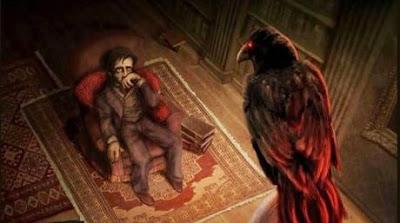 El-cuervo-edgar-allan-poe-ilustracion